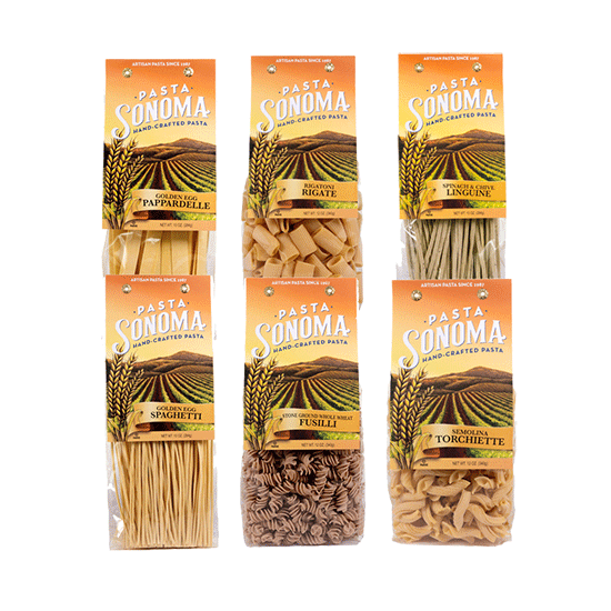 Long & Short Pastas Combo Pack of 6