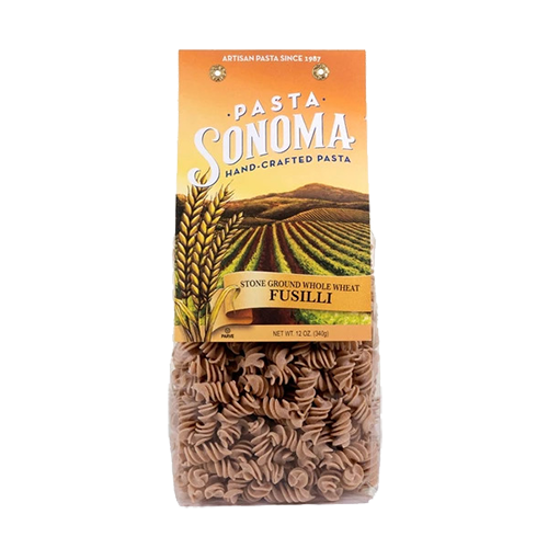 Stone Ground Whole Wheat Fusilli