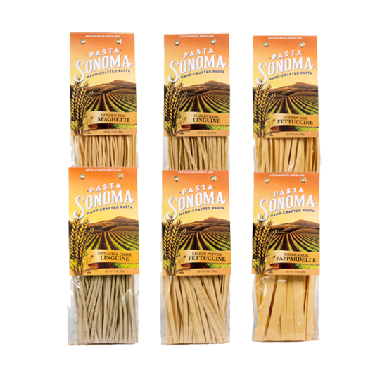 Long Pastas Combo Pack of 6