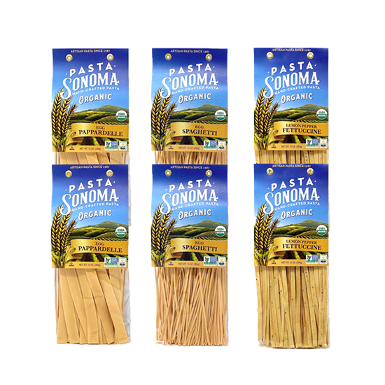 Organic Long Pastas Combo Pack of 6