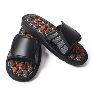 Massage Slipper Shoes for Mens Chinese Medicine Pedicure Accupressure Foot  Treatment Healthcare Acupoint House Slippers | Diva Jean