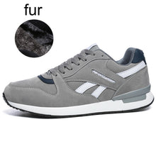 Load image into Gallery viewer, Men & Women Sneakers Black Gray Unisex Running Shoes - DivaJean