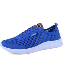 Load image into Gallery viewer, PULOMIES 2020 Summer Men Casual Shoes Men Tennis Shoes Breathable Mesh Sneakers Men Sport Shoes Light Shoes Couple Shoes 48 Size - DivaJean