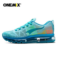 Load image into Gallery viewer, ONEMIX Men Running Shoes Fashion Breathable Mesh Air Cushion Sneakers Women Tennis Shoes Trainers Footwear For Walking Jogging - DivaJean