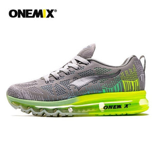 ONEMIX Men Running Shoes Fashion Breathable Mesh Air Cushion Sneakers Women Tennis Shoes Trainers Footwear For Walking Jogging - DivaJean