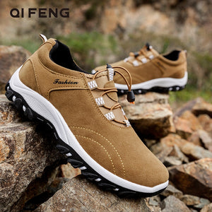 Large Size 48 Casual Leather Shoes Winter Men Outdoor Suede Sport Shoes Walking Footwear Summer Travel Shoes Classical Sneakers - DivaJean