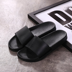 Summer Shower Room Slipper Woman Men Home Furnishing Household Indoor Non-slip Thickness Beach Shoes - DivaJean