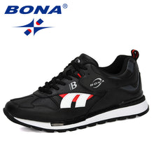 Load image into Gallery viewer, BONA 2020 New Designers Action Leather Sneakers Men Casual Shoes Trendy Cross-Border Outdoor Trainers Shoes Zapatillas Hombre - DivaJean