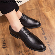 Load image into Gallery viewer, Monk Strap Shoes Men Classic Evening Dress Luxury Leather Shoes Men Oxford Italian Brand Men Formal Shoes Brown Dress Coiffeur - DivaJean