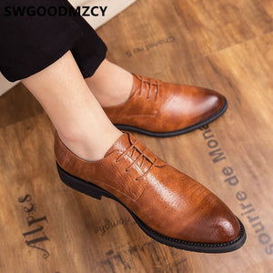 Monk Strap Shoes Men Classic Evening Dress Luxury Leather Shoes Men Oxford Italian Brand Men Formal Shoes Brown Dress Coiffeur - DivaJean