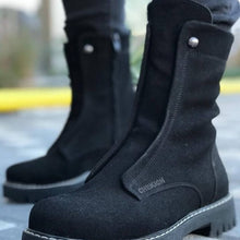 Load image into Gallery viewer, Chekich Boots for Men Boot Men's Winter Shoes Fashion Snow Boots Shoes Plus Size Sneakers Ankle Men Shoes Winter Boots Footwear Men Basic Boots Shoes Men 2020 Spring Fashion Winter Boots For Men Zapatos Hombre CH027 - DivaJean