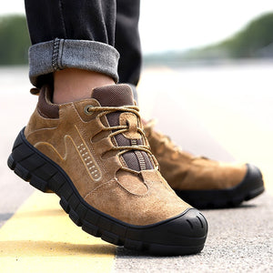 Men's Safety Shoes Puncture-Proof Outdoor Sneakers Steel Toe Safety Shoes Indestructible Shoes Work Safety Boot Free Shipping - DivaJean