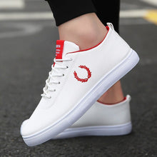 Load image into Gallery viewer, Spring Autumn White Shoes Men Shoes Men's Casual Shoes Fashion Sneakers Street Cool Man Flat Shoes Footwear zapatos de hombre - DivaJean