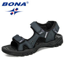 Load image into Gallery viewer, BONA 2020 New Designers Action Leather Shoes Slip-on Slippers Man Comfortable Trendy Beach Men Summer Sandal Zapatillas Hombre - DivaJean