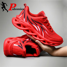 Load image into Gallery viewer, New Men Sport Shoes Fire Shoes Breathable Running Sneakers Men Casual Shoes Platform Sneakers Men Tennis Shoes Men Walking Shoes - DivaJean
