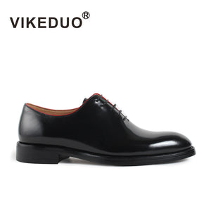 Vikeduo 2020 Handmade Brand Italy Shoes Fashion Blake Wedding Party Office Male Dress Shoe Genuine Leather Mens Oxford Zapato - DivaJean