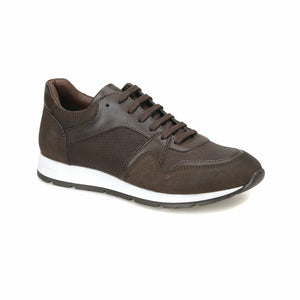FLO 81107-A Brown Men Shoes Forester - DivaJean