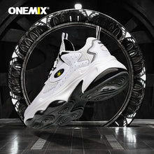 Load image into Gallery viewer, ONEMIX Men High-end Tennis Shoes Air Cushion Platform Shuhe Street Sports Shoes Athletic Shoes Comfortable Soft Running shoes - DivaJean