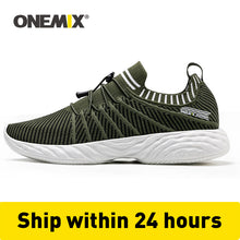 Load image into Gallery viewer, ONEMIX Men Running Shoes Trainers Comfortable Damping Outdoor Athletic Vulcanized Tennis Shoes Trail Sneakers 350 Free Shipping - DivaJean