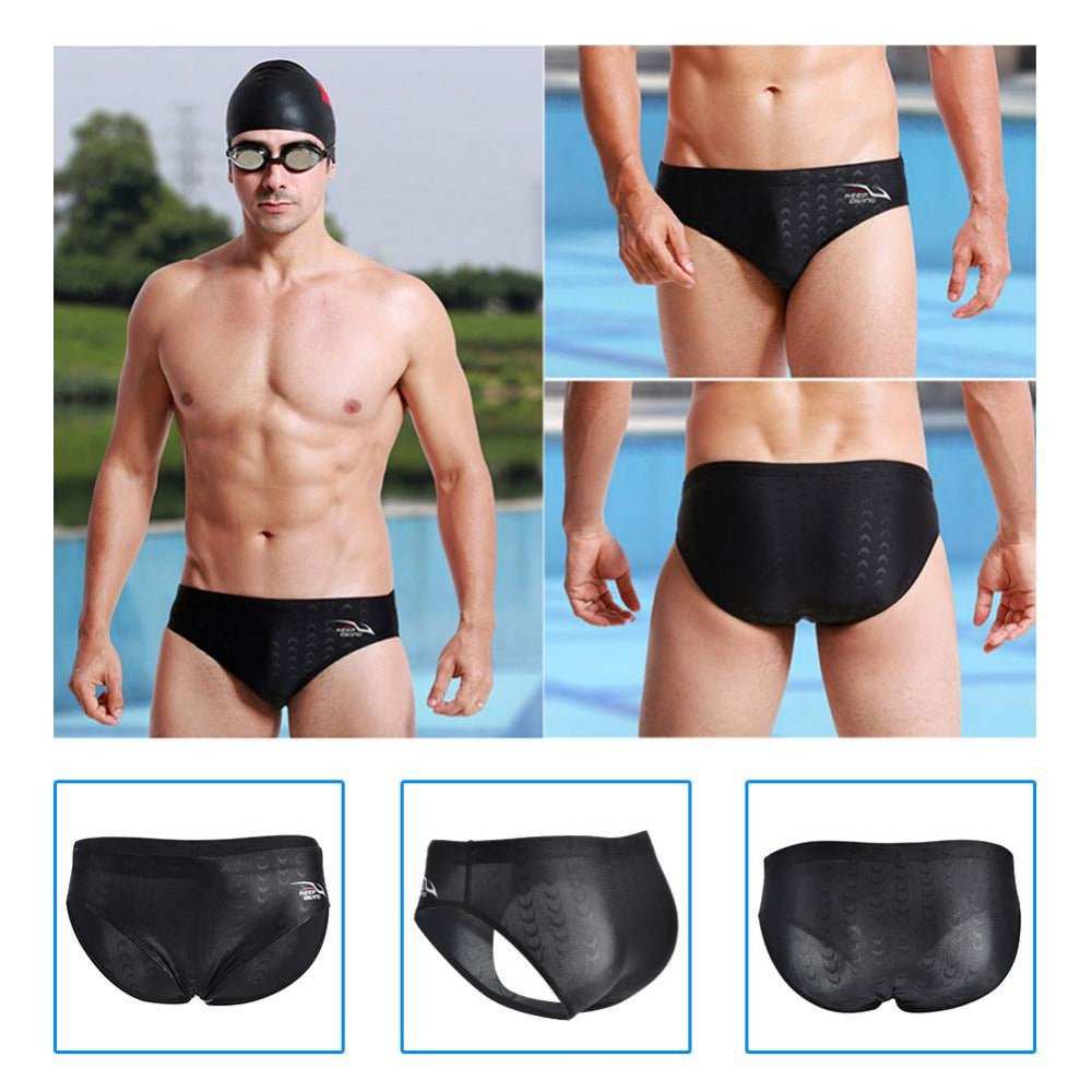 Hot Sale New Men Swim Briefs Swimsuit Low Waist Bathing Swimming Shorts Trunks Men Swimwear Pants Summer Sexy Beach Shorts - DivaJean