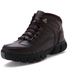Load image into Gallery viewer, MIXIDELAI Super Warm Winter Men Boots Genuine Leather Boots Men Winter Shoes Men Military Fur Boots For Men Shoes Zapatos Hombre - DivaJean