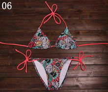 Load image into Gallery viewer, 2019 Arrival Sexy Bikinis Women Swimsuit Push Up Swimwear Summer Beach Wear Printed Brazilian Bikini Set Bathing suits Swim Wear - DivaJean