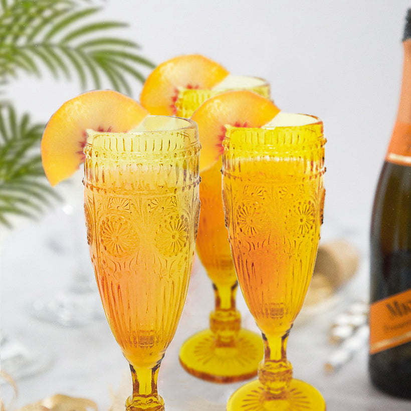 Saturday Sip Sess: Peach Bellini