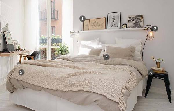 5 Steps To A Stylish Bedroom
