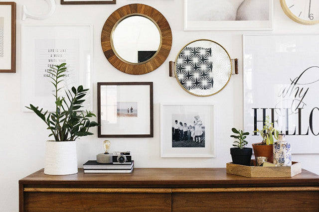 5 Steps to a Stylish Gallery Wall