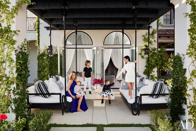 Home Inspiration : Kourtney and Khloé Kardashian