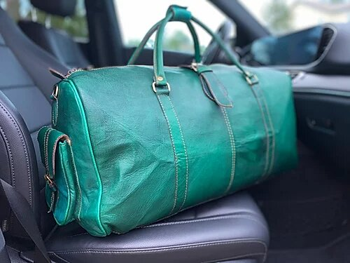 The Weekender - Emerald Deuce Premium Duffle Bag