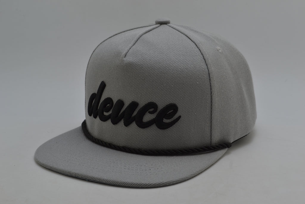 Signature Deuce Tour Golf Hat - Stormy Grey
