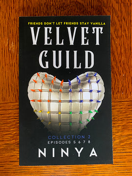 CLOSEOUT COVER PAPERBACK Velvet Guild Collection 2: Episodes 5 6 7 8