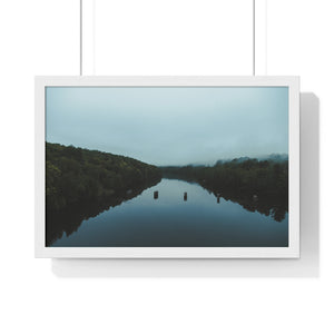 Morning Glass: Premium Framed Horizontal Poster