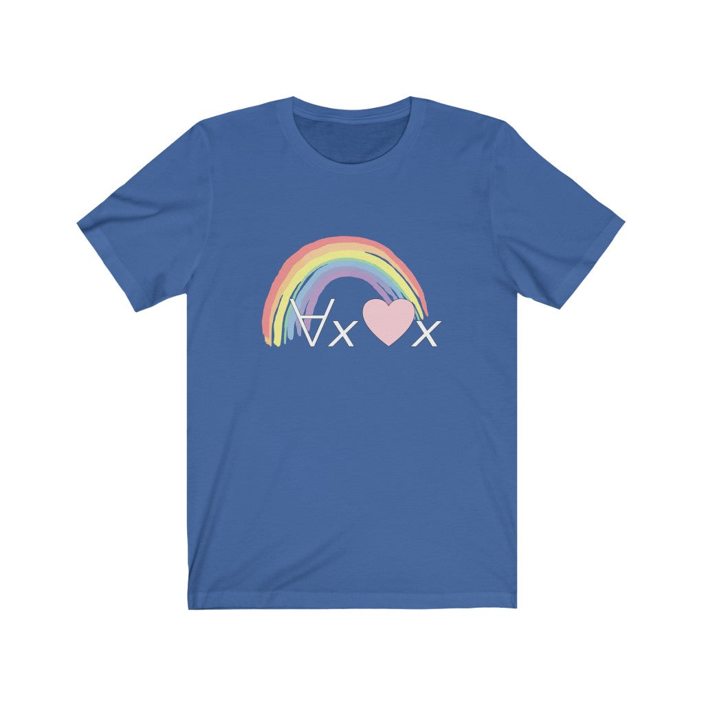 Love Everyone: Symbolic Logic T-Shirt