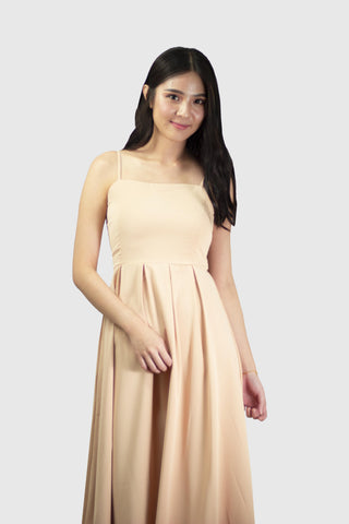 Laura Maxi Dress in Sand