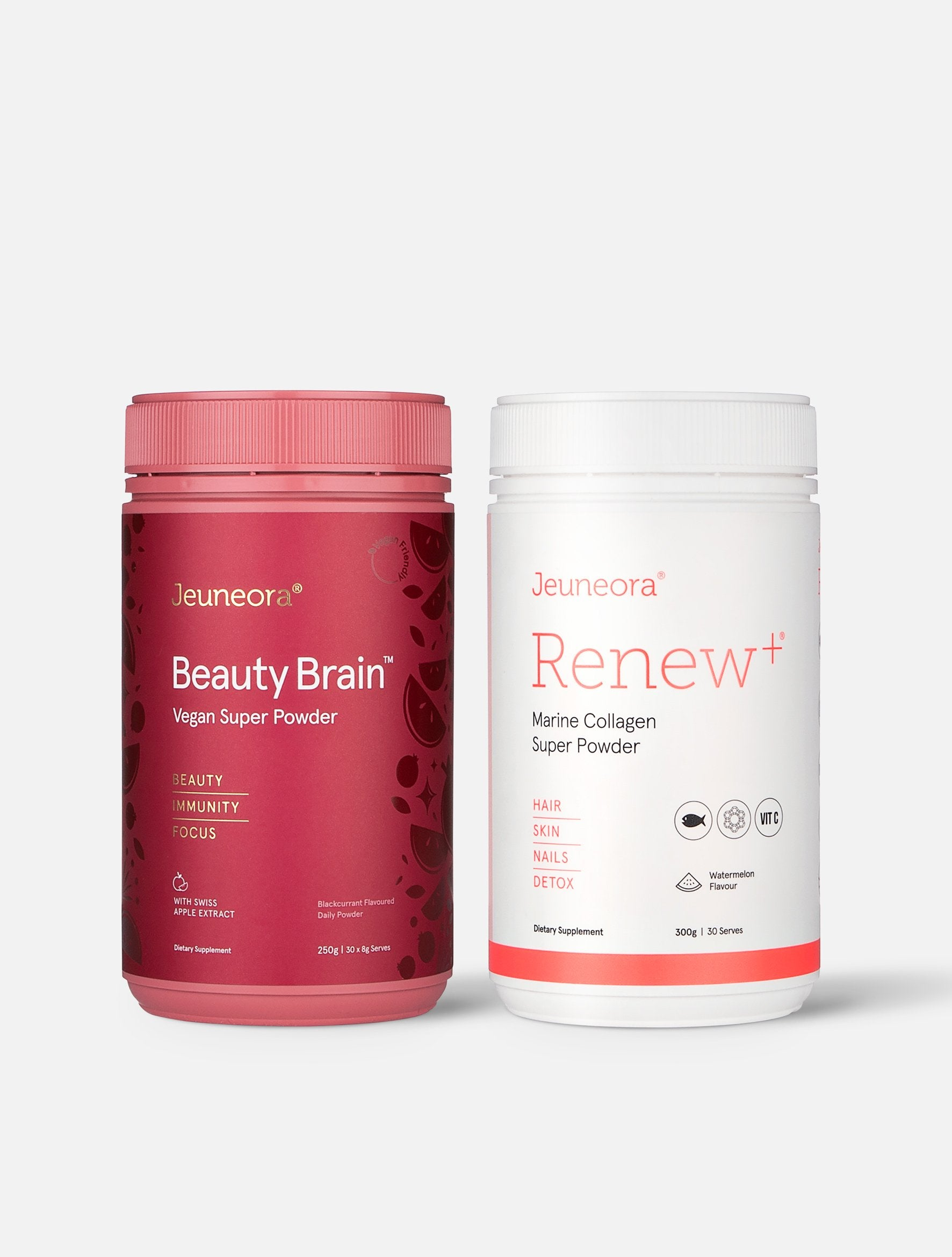Jeuneora Renew+® and Beauty Brain™