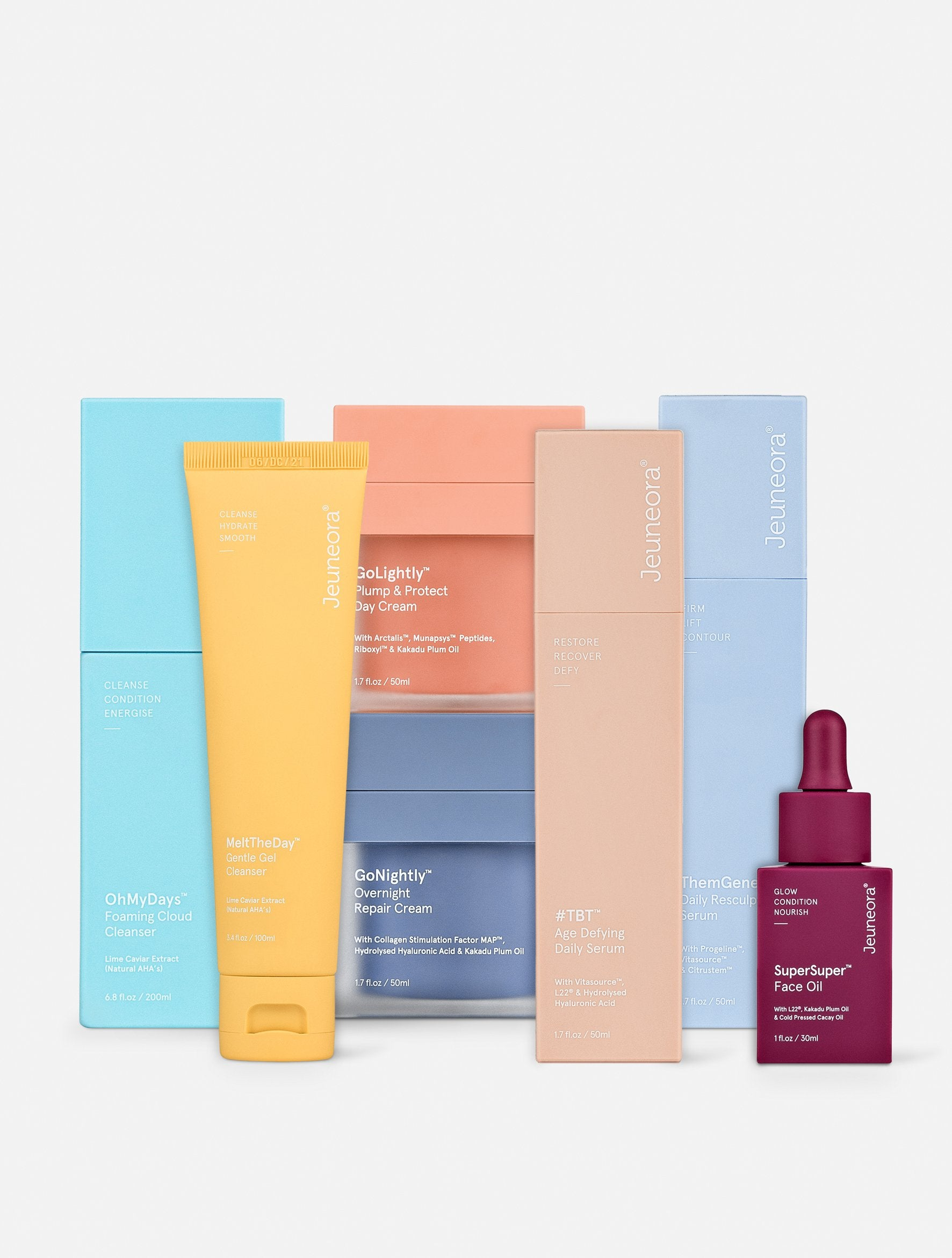 Jeuneora Skincare The Essential Seven