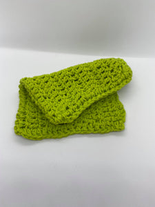 Crochet Pot Holders Light Green
