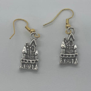 Haunted House Earrings