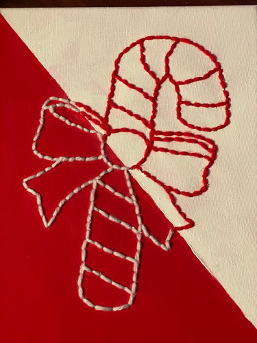 Candy Cane Wall Art