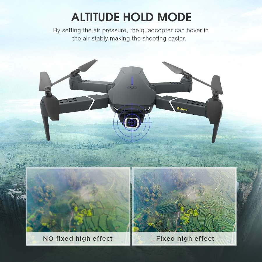 4K/1080P HD Wide Angle Camera High Hold Mode  Drone