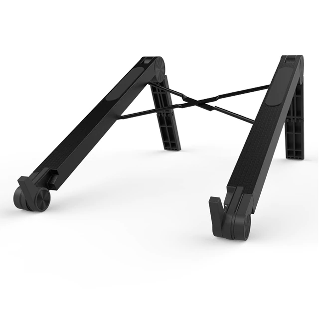 Portable and lightweight plastic laptop stand