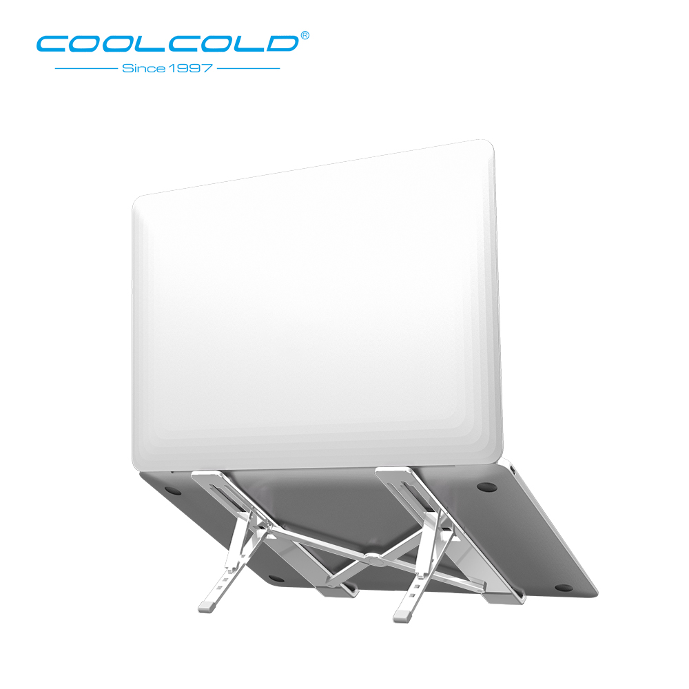 Portable and lightweight aluminum alloy laptop stand