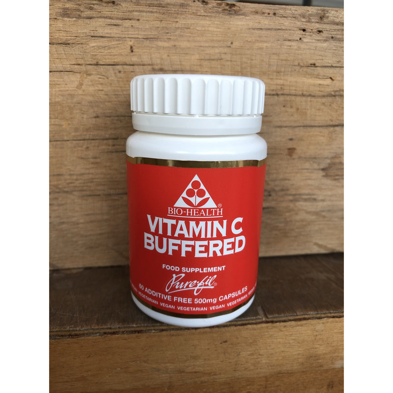 Vitamin C Buffered 500mg 60 Capsules