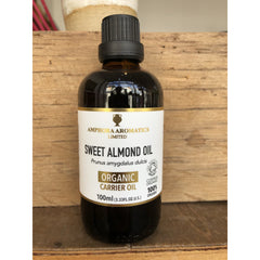 Organic Sweet Almond Oil 100ml