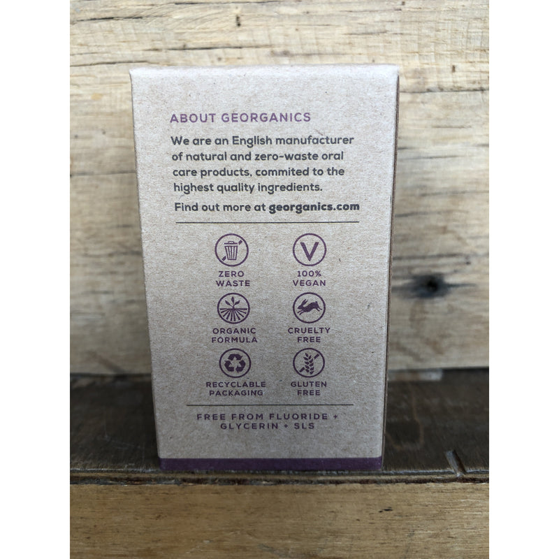 Georganics Mouthwash Tablets