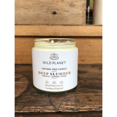 Natural Wax Candle - Wild Planet
