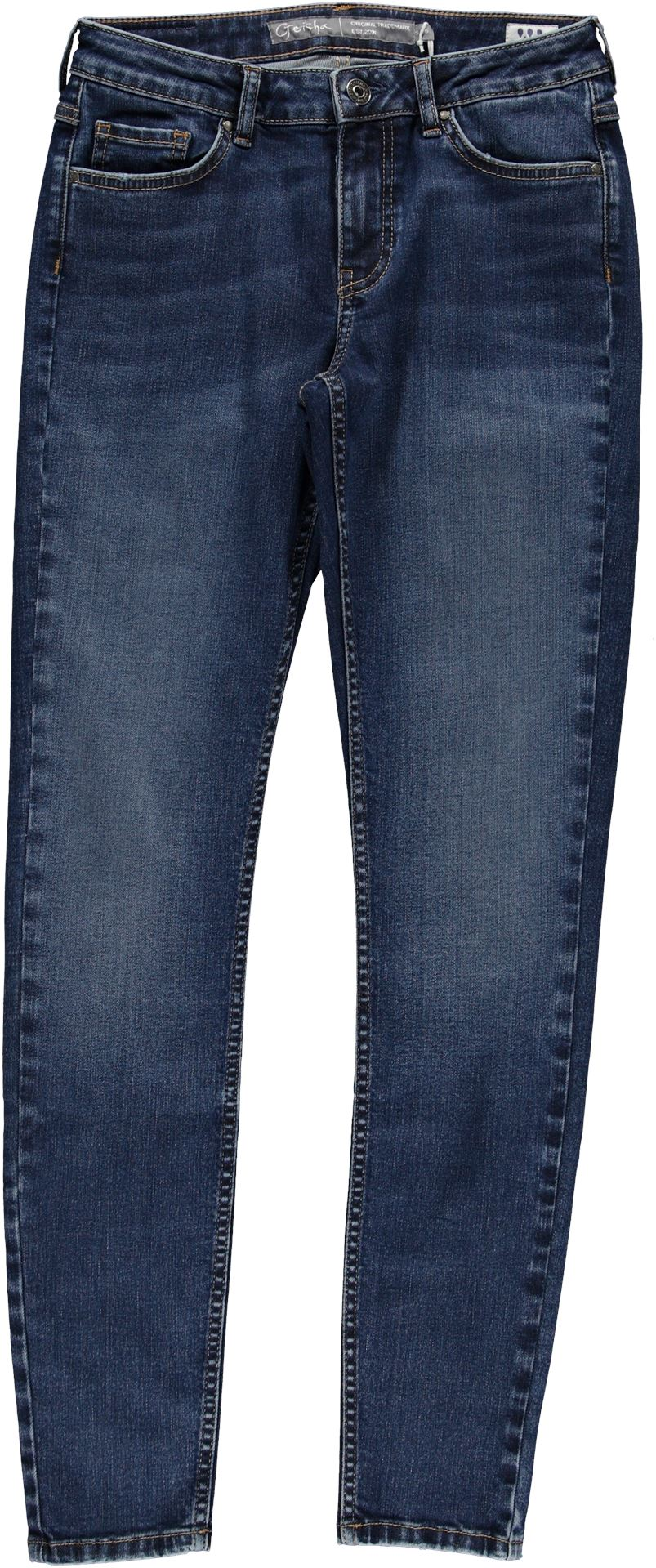 GEISHA - Denim jeans ECO-AWARE - 000827 - mid blue denim