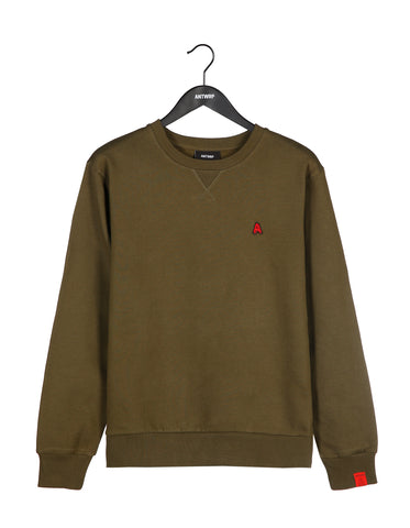 ANTWRP - SWEATER - DARK OLIVE